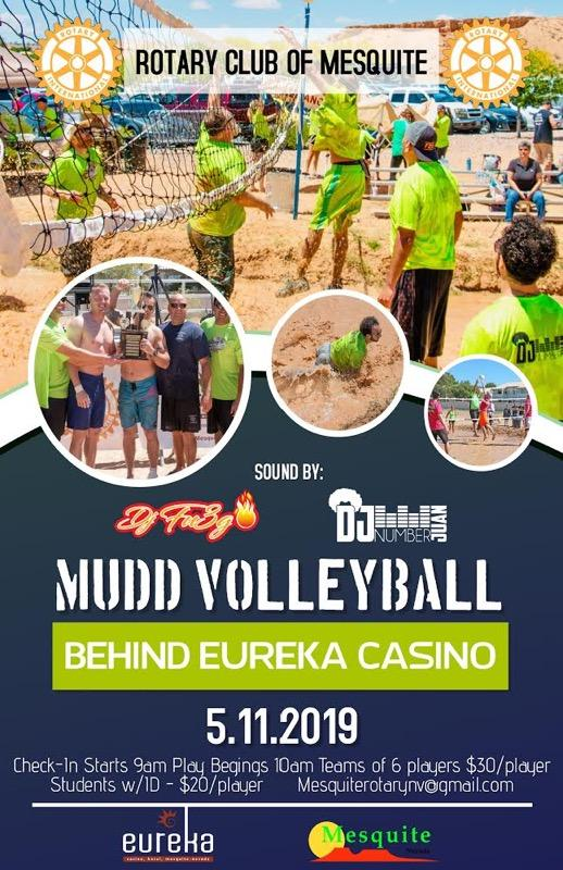 Rotary Mud Volleyball