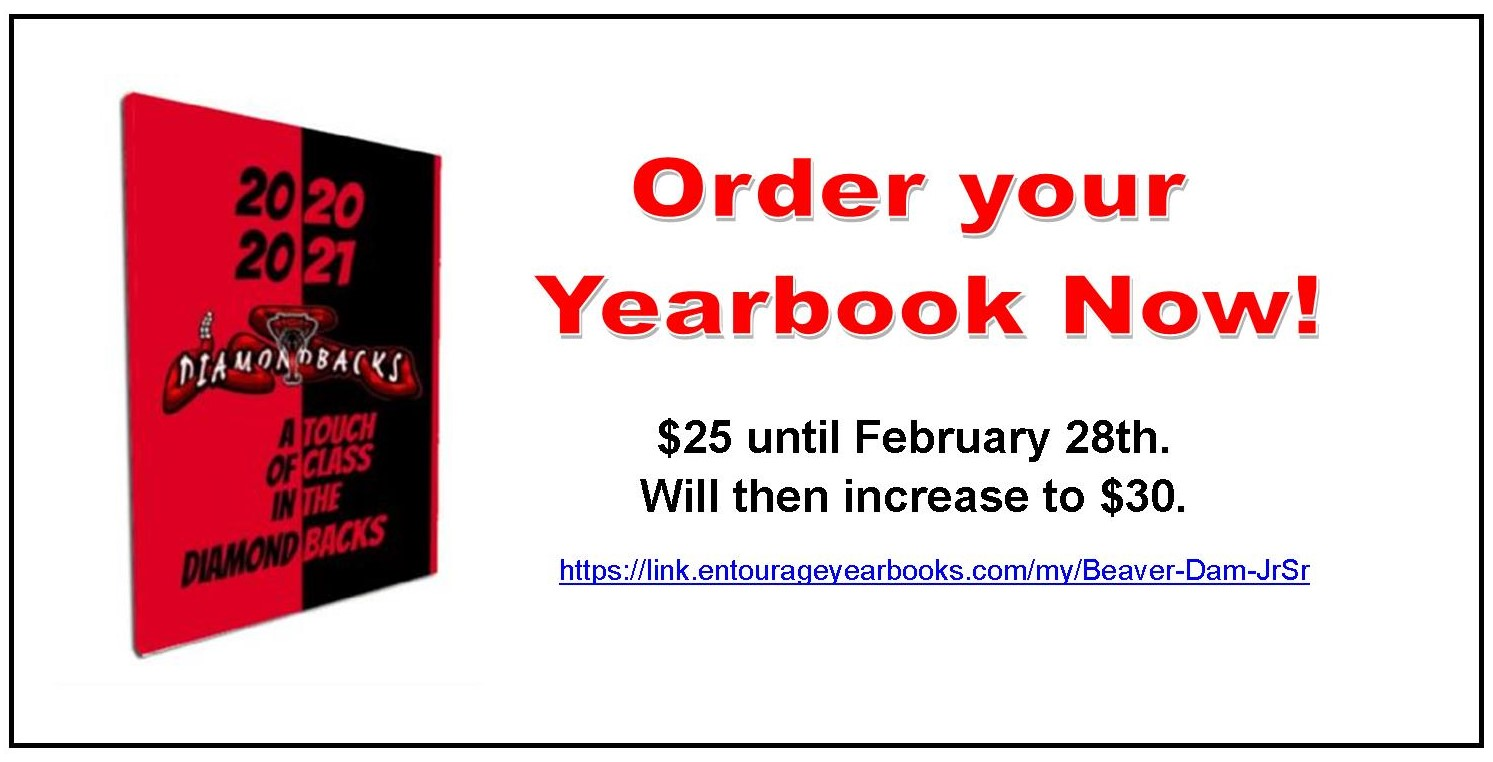 Yearbook Deadline